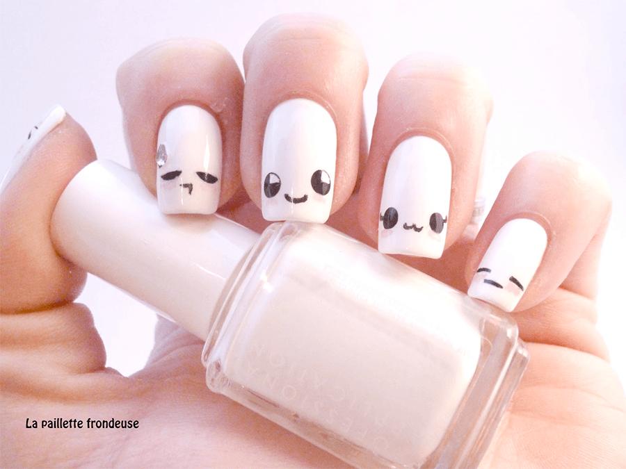 Kaomoji Nail Art