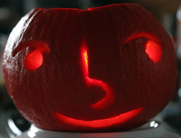 Japanese Emoticon Pumpkin