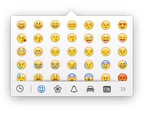 Emoji in OSX